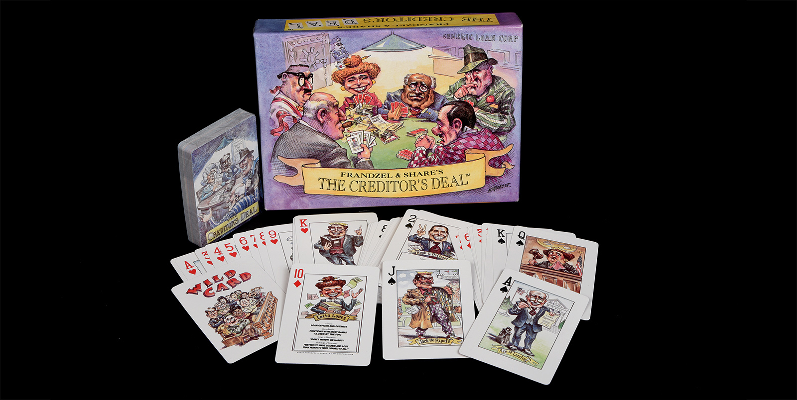 Frandzel's The Creditor's Deal card game