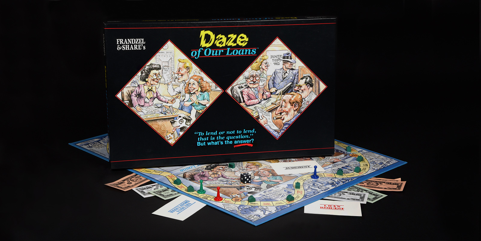 Frandzel's Daze of Our Loans board game