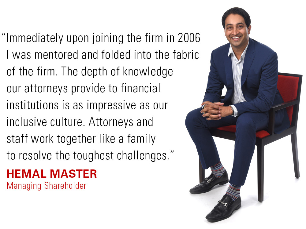 Hemal Master talks about his emplyment with Frandzel attorneys at law