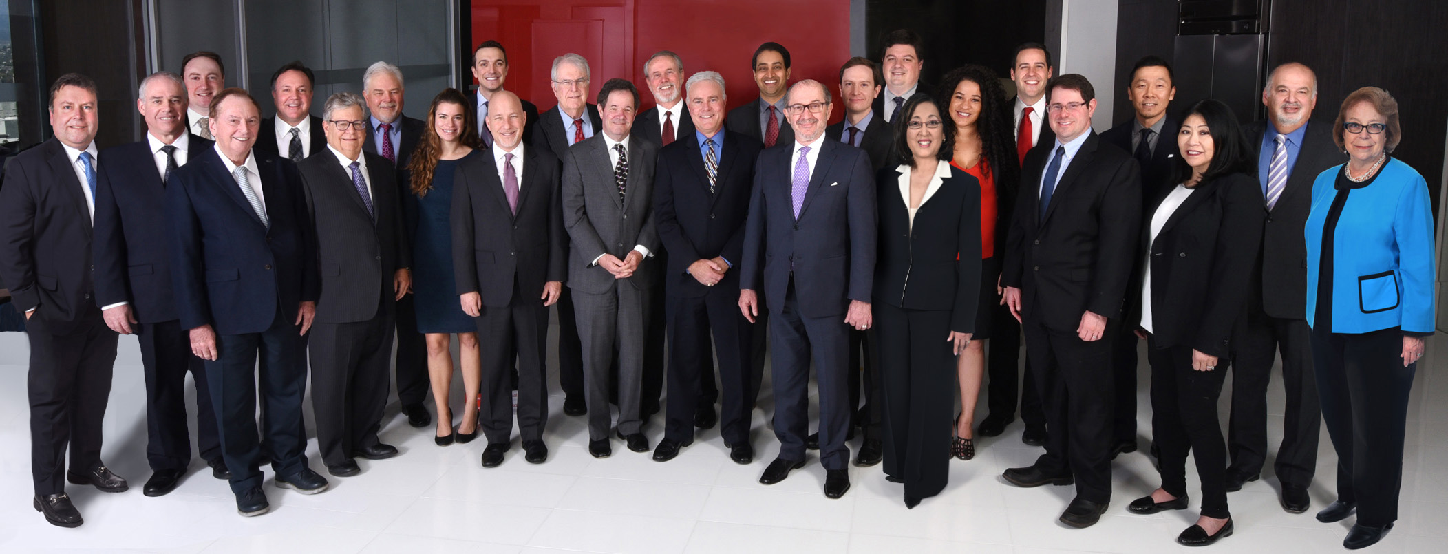 Attorneys and staff at Frandzel Law, Los Angeles